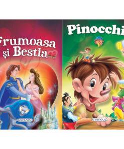 2 Povesti: Frumoasa si Bestia si Pinocchio