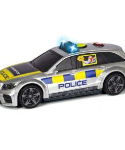 Masina de Politie cu Sunete si Lumini Mercedes 15 cm