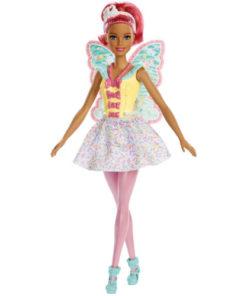 Papusa Barbie Dreamtopia Zana cu Aripi Bleu din Regatul Sweetville