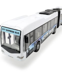 Autobuz Dickie Toys - City Express Bus, alb