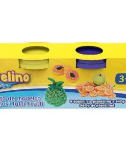 Plastelino - Pasta de modelat Tutti Frutti 4 culori II