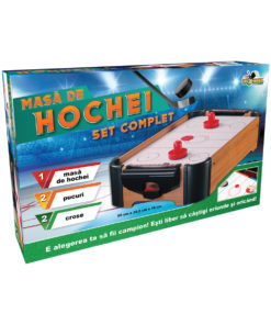 Masa Air Hockey din lemn Noriel Games