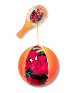 Minge gonflabila cu paleta Spiderman
