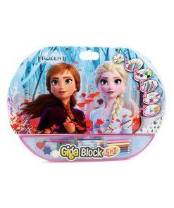 Set desen si accesorii Disney Frozen 2 Giga Block 5 in 1