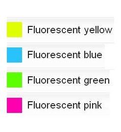 Tempera Fluorescent Redimix 500 ml