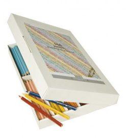 Set 144 creioane colorate Goldline Jumbo triunghiulare - Heutink