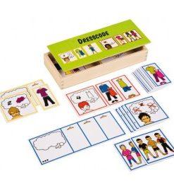Joc educativ pentru gradinita Dress Code - Toys for Life