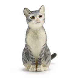 Figurina schleich pisica, asezata 13771