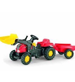 Tractor cu pedale Rolly Kid Rosu