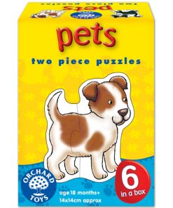 Set 6 Puzzle Animale de Companie