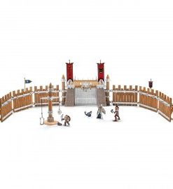 Set figurine schleich arena de lupta cu accesorii eldrador 42273