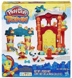 Play Doh town statia de pompieri