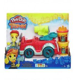 Play Doh town masina de pompieri