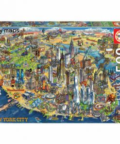 Puzzle New York City Map, 500 piese
