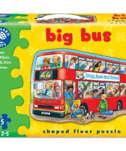 Puzzle de Podea Autobuzul 15 Piese