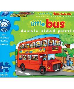 Puzzle Fata Verso Autobuz 12 piese