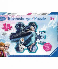 Puzzle Disney Frozen - Fulgul de zapada al Elsei, 73 piese