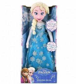 Papusa muzicala de plus Elsa Disney Frozen 36cm