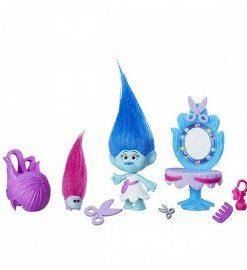 Figurina trolls cu accesorii hasbro hbb6556