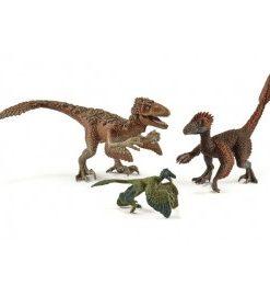 Set figurine schleich rapitoare cu pene sl42347