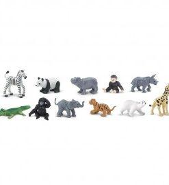 Figurina pui animale salbatice de la zoo