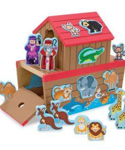 Set de Joaca din Lemn Arca lui Noe