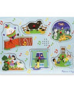 Puzzle Lemn cu Sunete Cantecele Copilariei 2