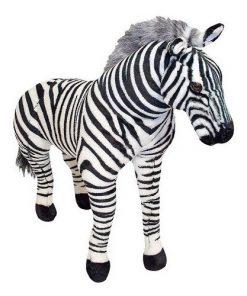 Jucarie de Plus Zebra Gigant
