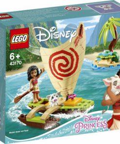 LEGO Disney Princess, Aventura pe ocean a Vaianei 43170
