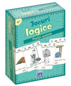 Jocuri logice, Pozitii spatiale, Editura DPH, 48 jetoane