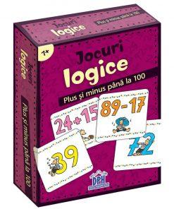 Jocuri logice, Plus si minus pana la 100, Editura DPH, 48 jetoane