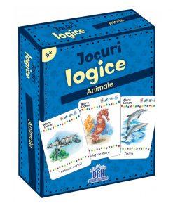 Jocuri logice, Animale, Editura DPH, 48 jetoane
