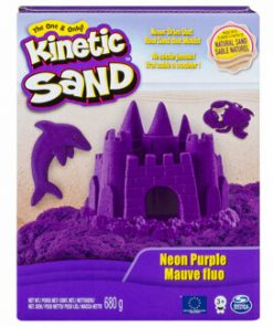 Kinetic Sand Deluxe, Mov neon, 680 grame