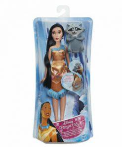 Papusa Disney Princess cu prieten, tematica acvatica - Pocahontas