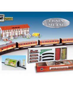 Trenulet Electric cu Statie si Tunel