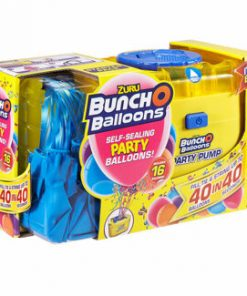 Bunch O Baloons - Set party baloons 16 baloane albastre si pompa