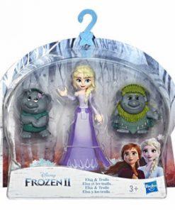 Frozen 2 - Mini figurine cu prieteni Elsa si trolii