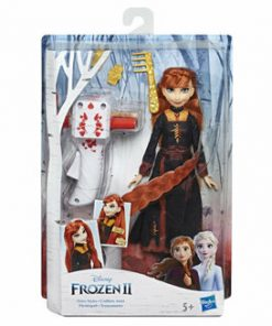Frozen 2 - Papusa Impletituri magice Anna