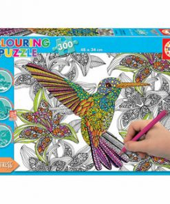 Puzzle Colouring Hummingbird, 300 piese