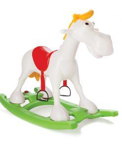 Balansoar Lucky Horse cu roti si melodii
