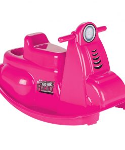 Balansoar pentru copii Rocking Moto Pink