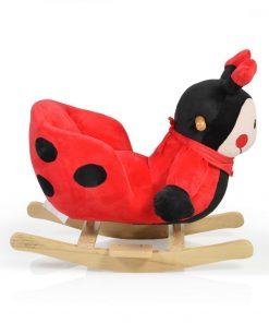 Balansoar plus pentru copii Ladybug cu sunete