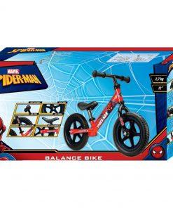 Bicicleta fara pedale 12 inch Spiderman Seven