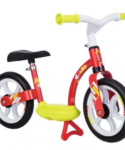 Bicicleta fara pedale Smoby Comfort red 10 inch