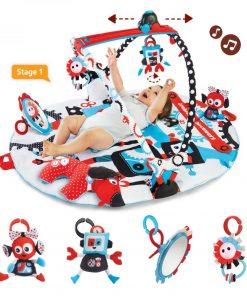 Jucarie centru de joaca cu jucarii mobile si activitati fizice robo Yookidoo 0-12 luni