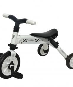 Tricicleta 2 in 1 Dhs B-Trike White