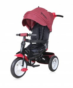 Tricicleta Jaguar Air multifunctionala 4 in 1 Red Black Luxe