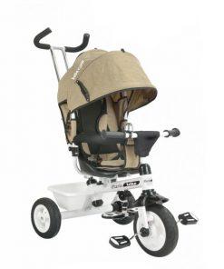Tricicleta cu sezut reversibil Bebe Royal Paris Crem