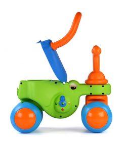 Vehicul Croco-cicleta cu forme, Coloma