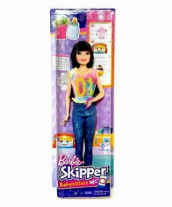 Papusa Barbie, gama family bona in blue jeans
